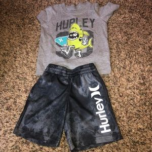 Boys Nike Hurley Shorts Outfit Size 4